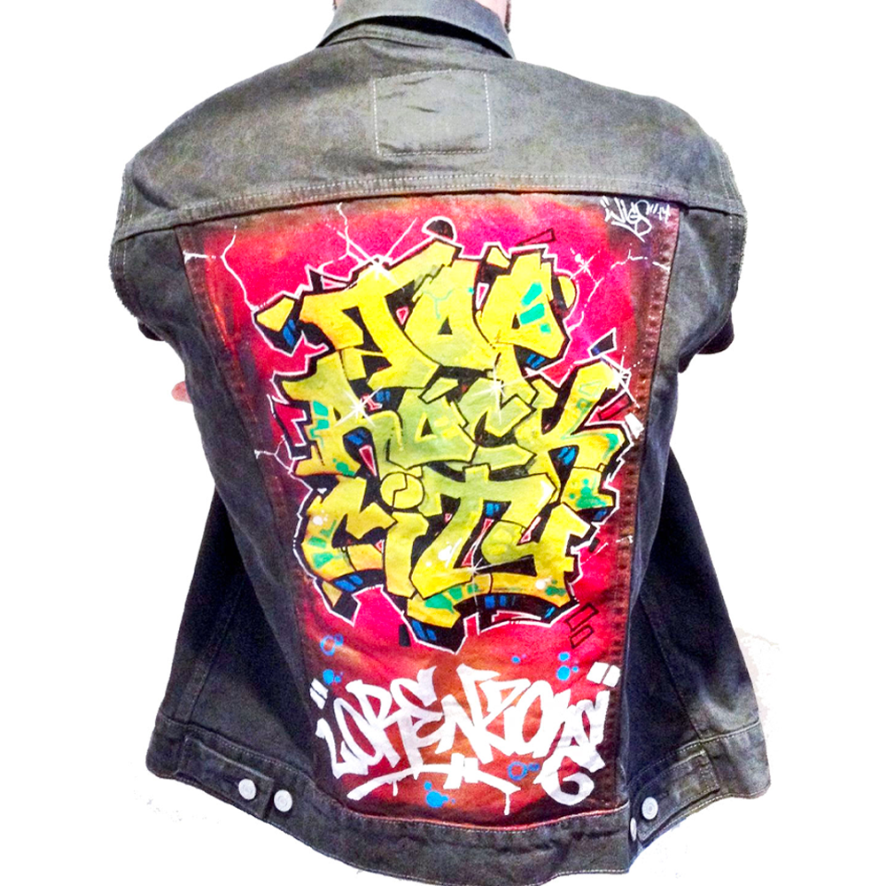 mr wiggles top rock city jacket