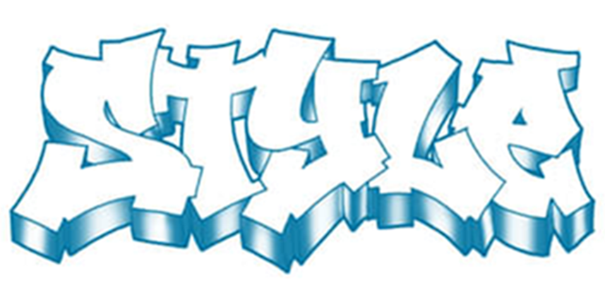 chinese letter graffiti designs