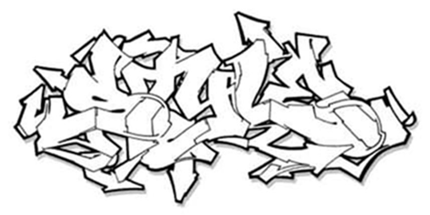 flava graffiti tattoo design