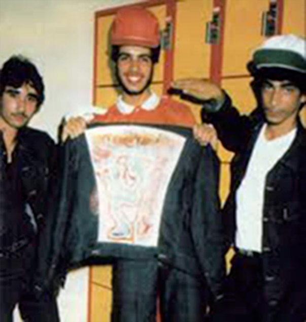 electric company crew stars roller rink 1981