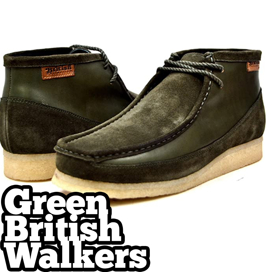 70s hip hop fashion green british walkers