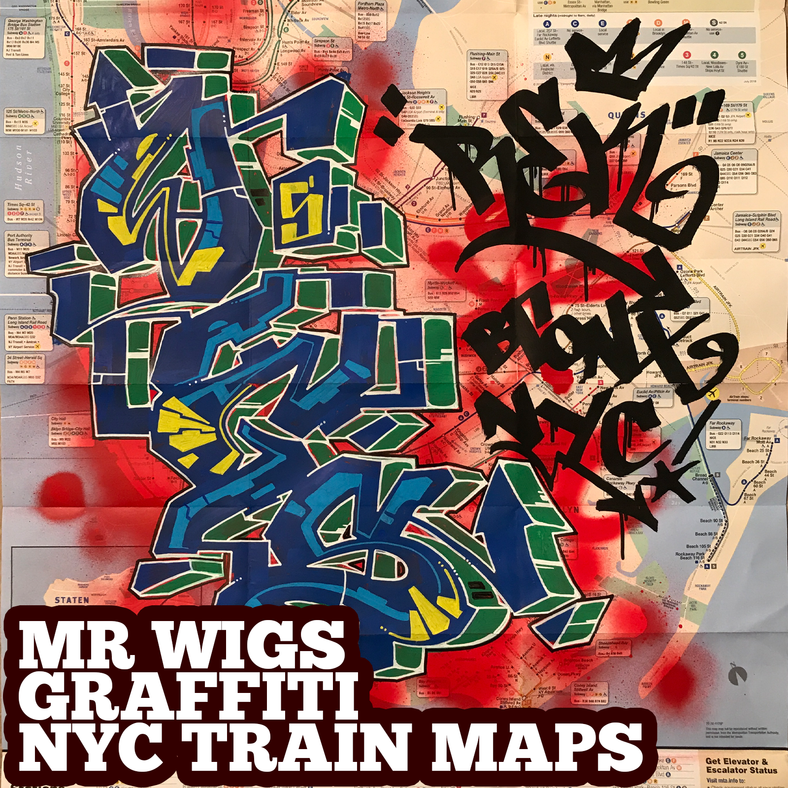 graffiti map wigs rek tag