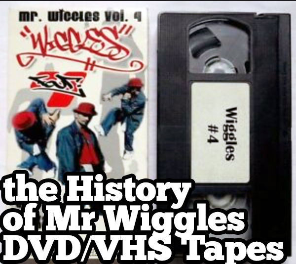 mr wiggles 4 vhs hip hop dance tape